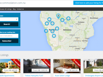 Accommodation.com.na - Find accommodation online in Namibia