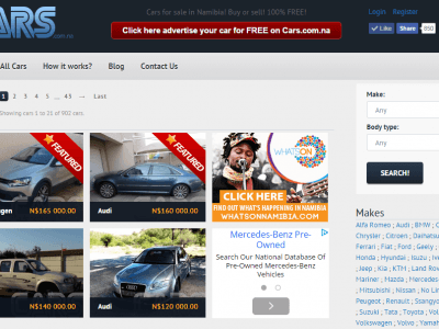 Cars.com.na - Namibia's Biggest Buying and Selling Directory of Cars